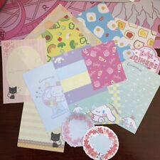 15PC) CUTE Cinnamoroll/Kitten/Food/Sakura Stationary Washi Tape SET + Small Gift