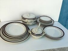 30 Piece Dininerware Dinning Set Made by Wood and Sons of England