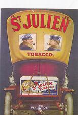 St Julien Tobacco Postcard Unused VGC