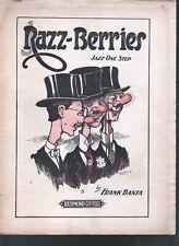 Razz Berries 1919 Sheet Music
