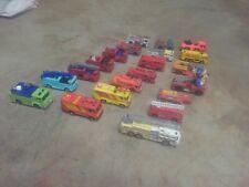 Matchbox hot wheels First Responders Lot of 21: Fire Trucks 1:64 - Loose
