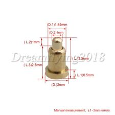 100x Pogopin Gold Plated Copper Spring Insert Thimble For Connection