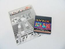 Atari Lynx Klax with Manual Video Game Console Handheld System