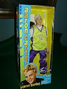 AARON CARTER DOLL   ~ PLAY ALONG 80000    ~ c 2001   ~ NEW IN SEALED BOX!