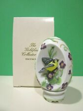 Lenox The Goldfinch Collector Egg New in Box Bird