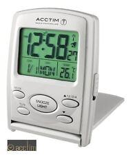 Reloj Despertador Acctim MSF Radio Controlados vista Multi Funcional LCD De Viaje