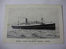 E013 - FEDERAL STEAM NAVIGATION FSN Company - SS SURREY Early Postcard