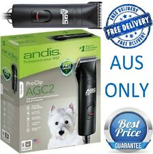 Andis AGC2 2 Speed Dog CLIPPERS --10 Blade (Oster Wahl KM2 blades) NEW NEW