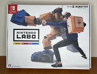 Nintendo Labo Toy-Con 02: Robot Kit for Nintendo Switch New Open Box Japan Impor