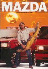 Mazda B Serie Pick Up & E Serie Van primi anni'90 svedese BROCHURE DI VENDITA