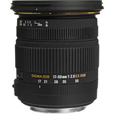 SIGMA 17-50mm F2.8 EX DC OS HSM LENS FOR NIKON & BONUS SANDISK 32GB CARD