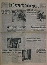 La Gazzetta dello Sport  N°266/11.NOV.1949-CAVONE e FILIPPELLI-COPPA BRIAN BARI