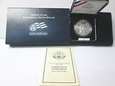 2004 Lewis & Clark Proof Silver Dollar Commemorative Set