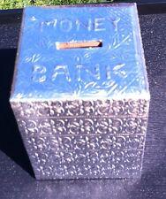 TEMPLE MONEY PIGGY BANK WITH LOCK & KEY HINDU POOJA MANDIR BEAUTIFUL RARE GOLAK
