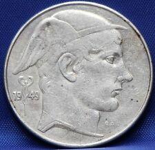 Belgie - Belgium 20 francs 1949 NED - silver - KM# 141.1