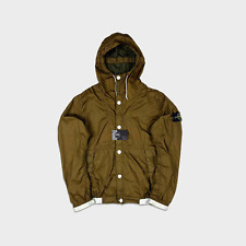 Stone Island Membrana 3L TC Hooded Jacket Green M