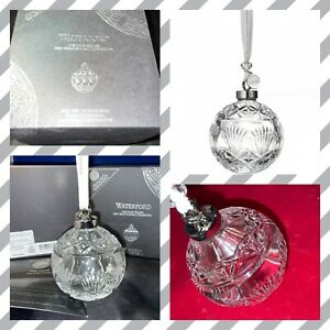 WATERFORD Crystal TIMES SQUARE BALL 2020 ORNAMENT 40035496 GIFT OF GOODWILL New