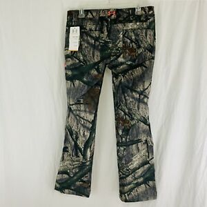 Under Armour Women's Size 8 Mossy Oak Treestand Camo Performance Field Pant NEW
