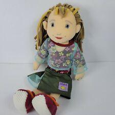 Manhattan Toy Fiona Lilydoll Doll 16 Plush Flower Shirt Green 2001