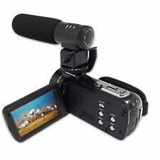 Ordro HDV-Z20 8MP HD 1080P Microphone Touch Screen 16x Zoom Digital Video Camera