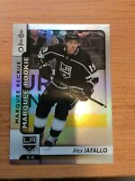 O-Pee-Chee 2017-2018 MARQUEE ROOKIE ALEX IAFALLO FOIL HOCKEY CARD #612