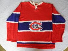 Montreal Canadiens GCK vintage durene dureen blank 1960s 60s original Small S