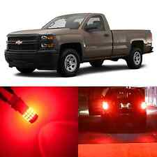 Alla Lighting Brake Tail Signal Light Red LED Bulbs for 2015~17 Chevy Silverado