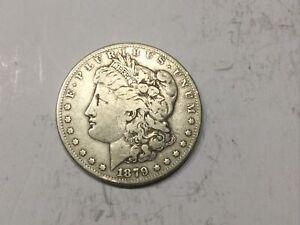 1879-S Morgan Silver Dollar - Reverse of 1878 - VG Detail     #732