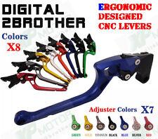 Ergonomic CNC Adjustable Brake Clutch Levers BMW F650GS 2008 2009 2010 2011 2012