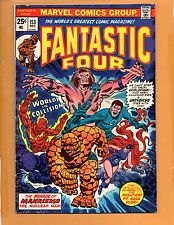 Fantastic Four #153 Medusa Thundra FN+