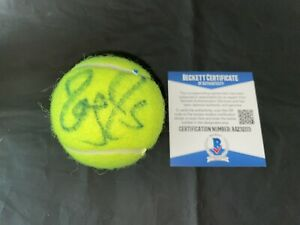 Roger Federer Signed Penn Tennis Ball Tennis Legend Beckett #3