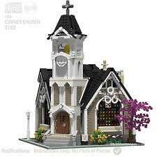 CD Corner Church Modular PDF Book Custom Lego Instructions, CC Corner#56