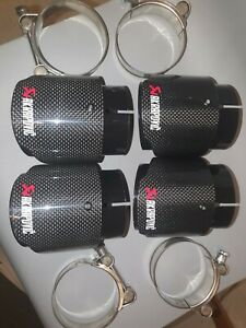 BMW M3 Akrapovic Carbon Fiber Exhaust Tips