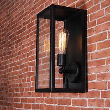 3X Kitchen Wall Lights Indoor Wall Lamp Black Wall Sconce Glass Wall Lighting