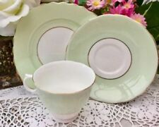 Unboxed Tea Trio British Colclough Porcelain & China