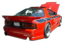 86-91 Mazda RX-7 Duraflex GP-1 Rear Bumper 1pc Body Kit 100726