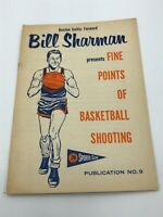 1957-59 Union Oil 76 Sports Club Booklet #09 Bill Sharman - Boston Celtics