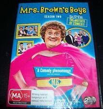 Mrs Brown's Boys Season / Series Two 2 DVD Region 4 Australia – NEW