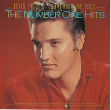 ELVIS PRESLEY - Number One Hits NM 1987 RCA USA JVC 6382-2-R remastered no IFPI