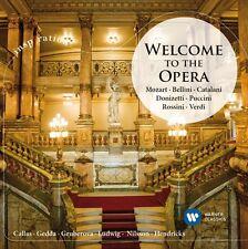 Maria/Gedda, Nicolai/Gruberova, edita CALLAS-Welcome to the opera CD NUOVO