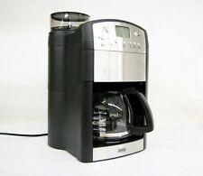 BEEM Fresh Aroma Perfect Thermostar Kaffeemaschine Mahlwerk LCD Display Silber