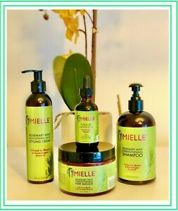 Mielle Rosemary-100%Original-Mint/Masque/Shampoo/Edge Gel-Free UK Delivery