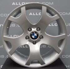 "GENUINE BMW X5 E53 TIGER CLAW STYLE 63 SILVER 19""INCH ALLOY WHEELS X4, VW T5/T6"