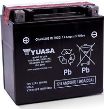 Yuasa YTX14-BS (M3RH4S) AGM Maintenance Free Battery ATV UTV