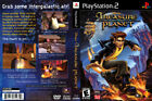 Walt Disney's Treasure Planet Sony PlayStation 2 PS2 Case Artwork and Game Disc