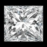 LOOSE NATURAL DIAMOND .09 CARAT SI1 PRINCESS CUT