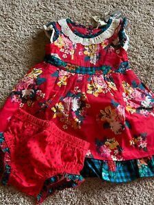 Matilda Jane Dress & Diaper Cover Size 12 18 Month $42 MSRP