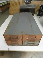 Vintage  Industrial Metal Storage Drawer file cabinet,Parts Cabinet