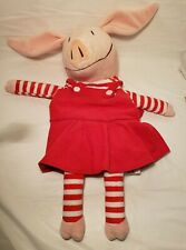 """Zoobies Olivia The Pig with Storage pouch  18"""""""