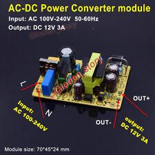 AC-DC Converter Switching Power Supply Board AC 110V 220V 230V to DC 12V 3A 36W